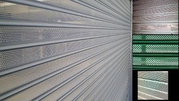 PERFORATED SHUTTERS