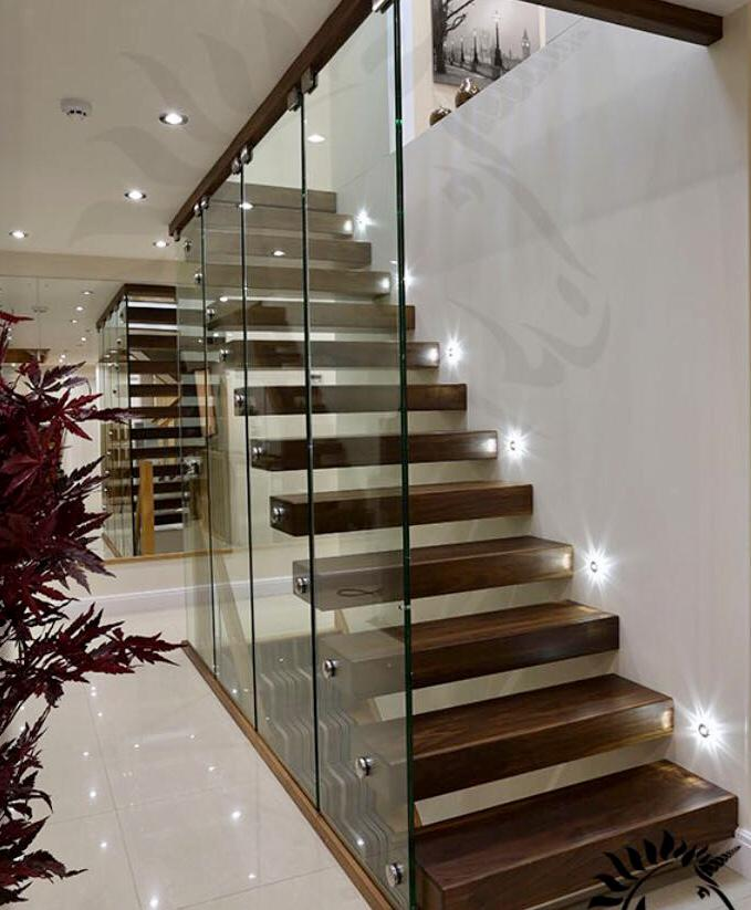 floating stairs, modern stairs