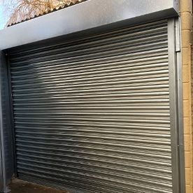 GALVANISED GARAGE SHUTTER WITH REMOTE