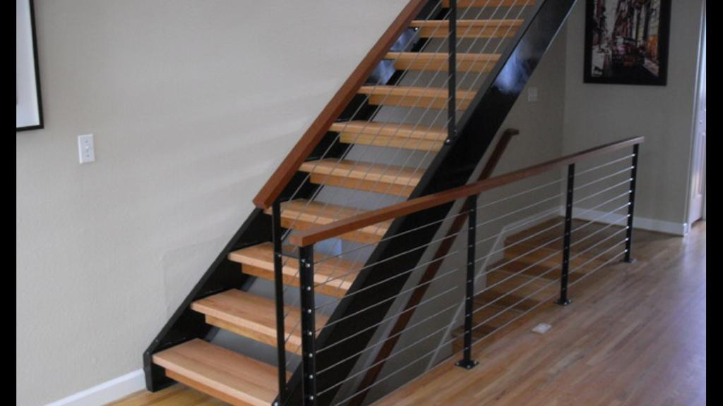 metal house stairs