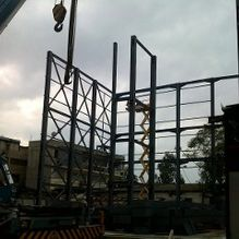 structure beams installation