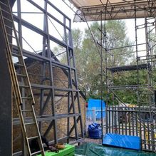 climbing tower steel structure