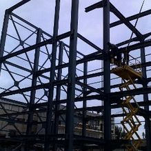 flats steel structure