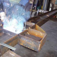 structure steel welding fabrication
